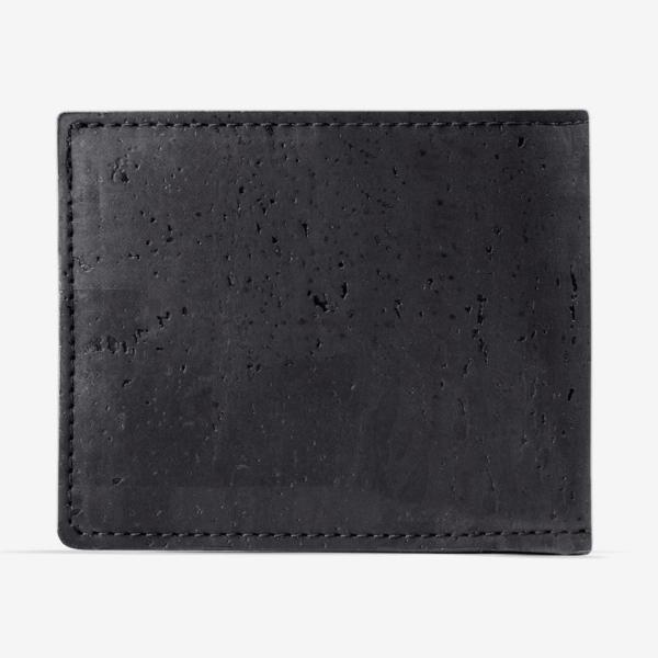 Brieftasche mit ID-Fenster (schwarz)