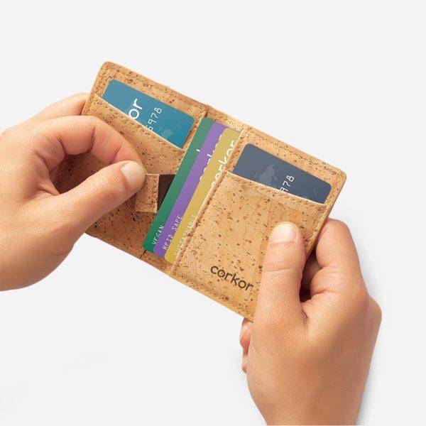 Geldbörse Minimalist (natur)