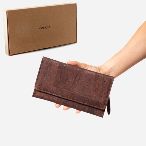 Geldbörse Slim 2 (braun)