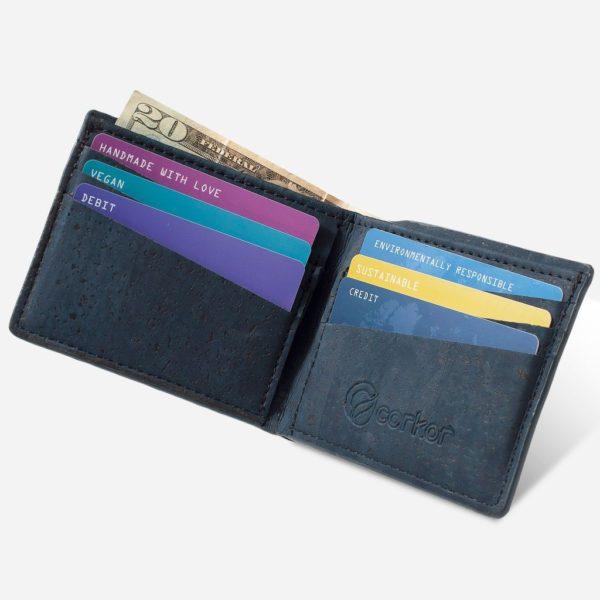 Geldbörse Slim Basic (blau)