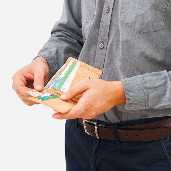 Geldbörse Slim Basic (natur)