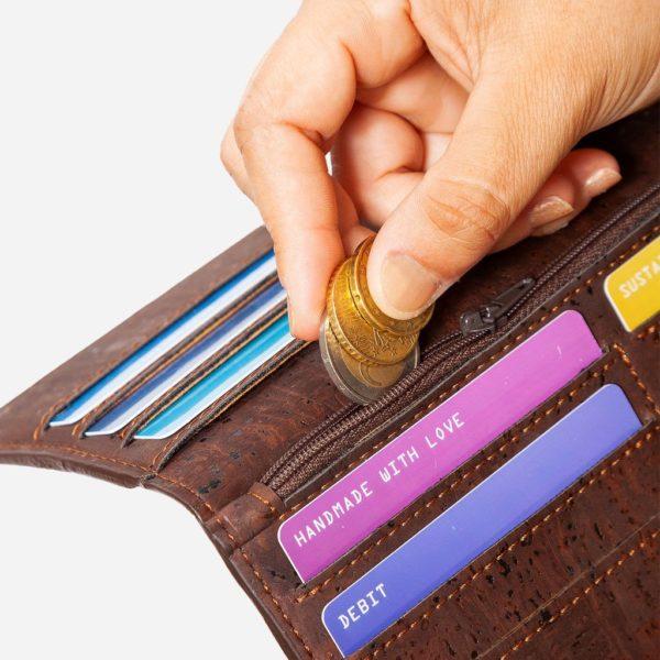 Geldbörse Slim (braun)