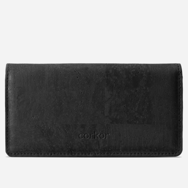 Geldbörse Slim (schwarz)