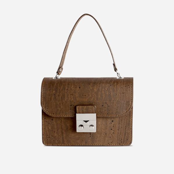 Handtasche mini braun