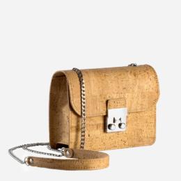 Handtasche mini natur
