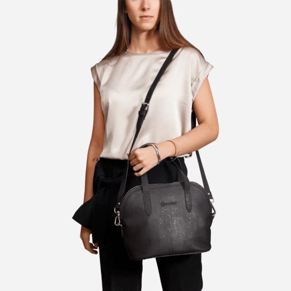 Handtasche (schwarz)
