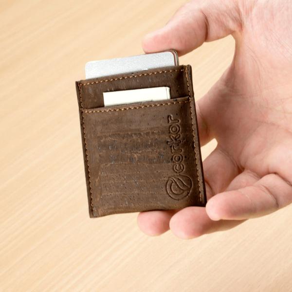 Kartenetui Minimalist (braun)