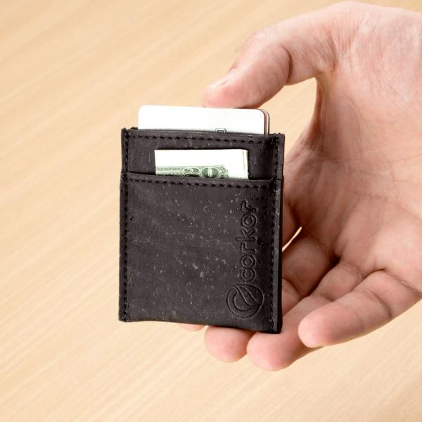 Kartenetui Minimalist (schwarz)