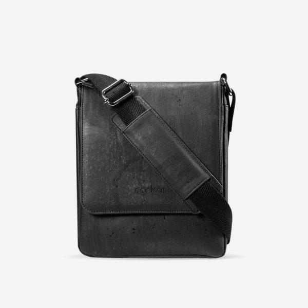 Messenger Bag Medium (schwarz)
