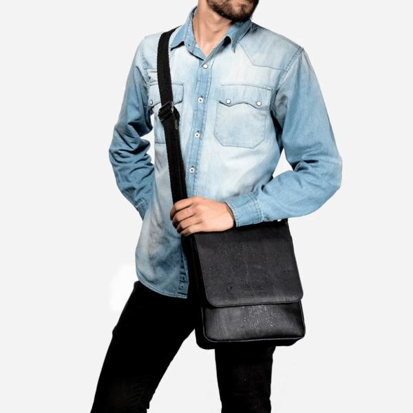 Messenger Bag Medium schwarz