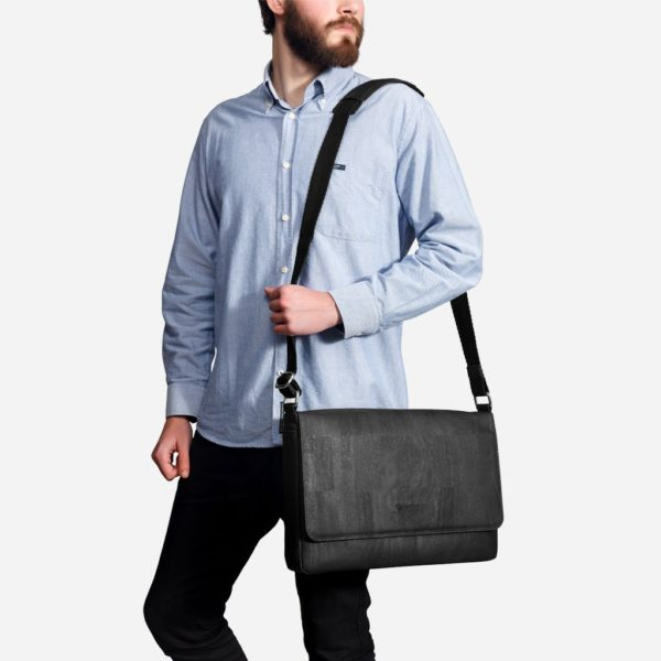 Messenger Bag (schwarz)