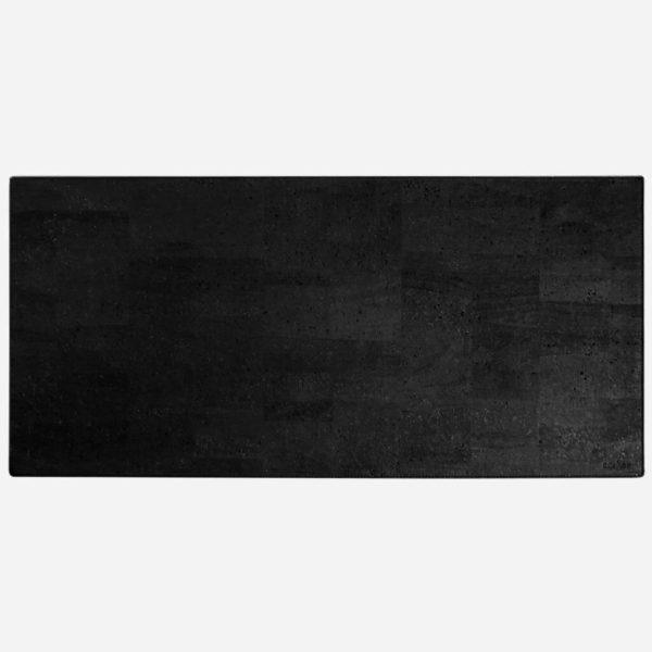 Kork Schreibtischunterlage schwarz