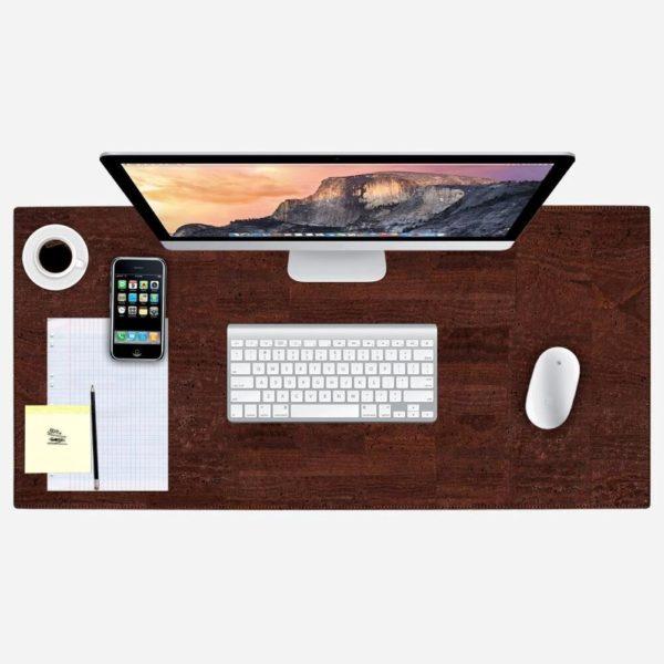 Schreibtischunterlage (braun)