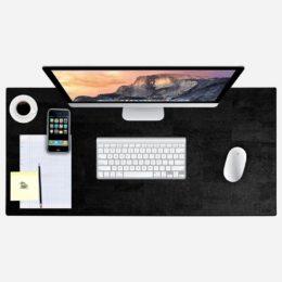 Schreibtischunterlage (schwarz)