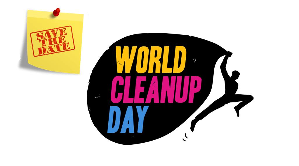 Mach mit beim World Cleanup Day und gewinne eine tolle Brieftasche!